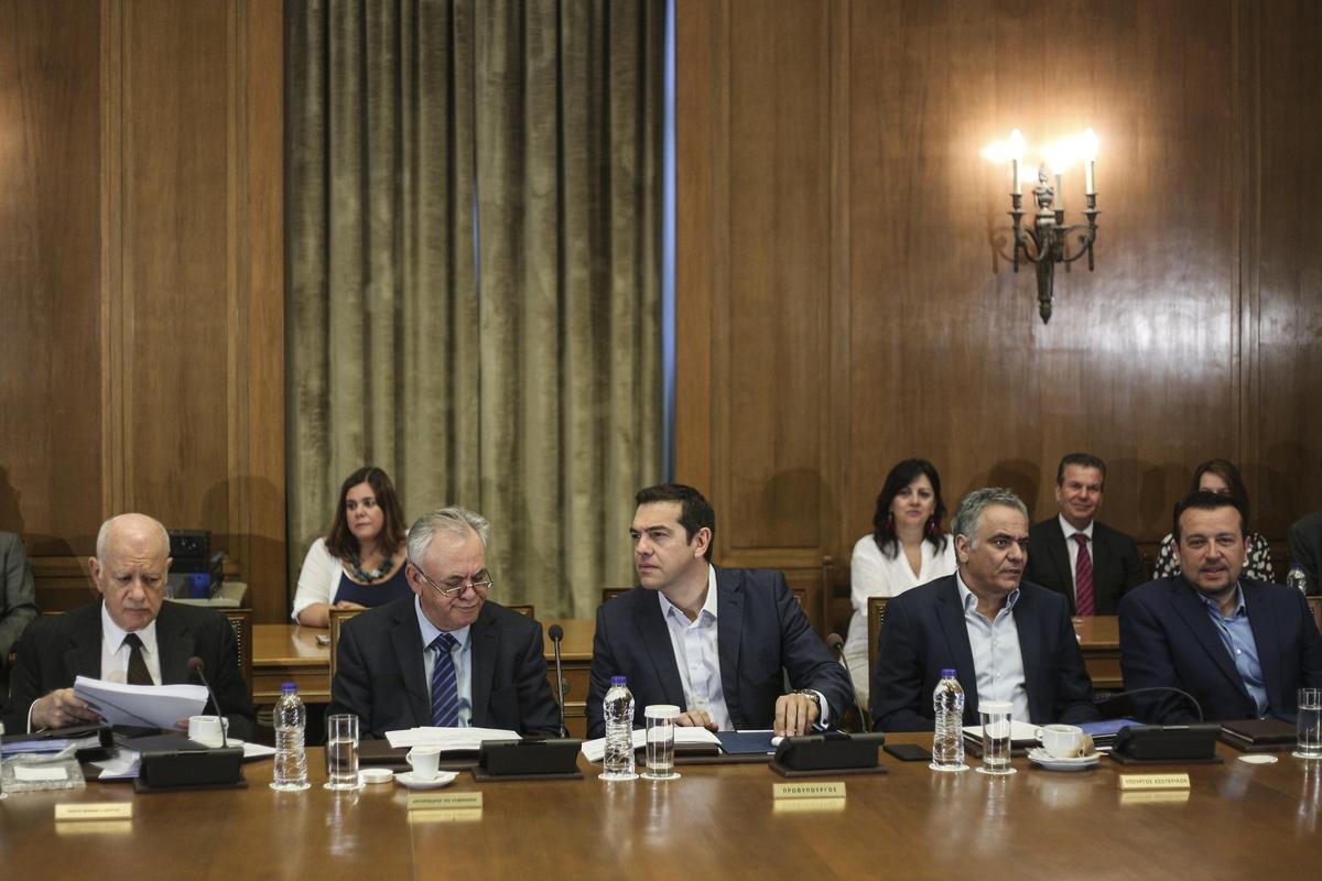 Ministers` cabinet meeting, in the Hellenic Paliament, in Athens, on June 21, 2017 / Yπουργικό συμβούλιo, στο Ελληνικό Κοινοβούλιο, στις 21 Ιουνίου, 2017