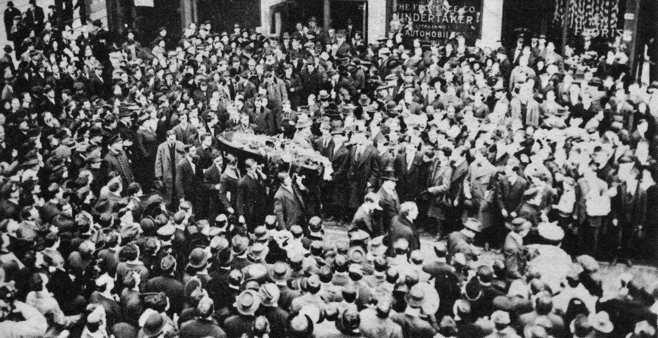 Η κηδεία του Τζο Χιλ στο Σικάγο