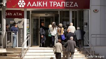 Οι ιδιώτες με καταθέσεις άνω των 100.000 στη Λαϊκή Τράπεζα υπέστησαν τις σοβαρότερες συνέπειες.