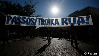 «Όταν φεύγει η τρόικα, το μόνο που θέλει είναι να δει τα σωστά νούμερα» εκτιμά ο πορτογάλος ευρωβουλευτής Πάολο Ρανζέλ