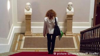 Προτομές του Σωκράτη και του Πλάτωνα στη βουλή της Βαυαρίας