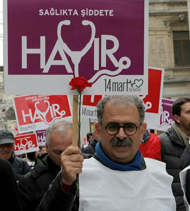 Ο αγωνιστής καθηγητής Ονούρ Χαμζάογλου που κρατείται στις φυλακές υψίστης ασφαλείας.