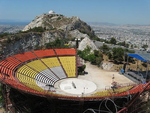 Δρομολογείται ο αρχιτεκτονικός διαγωνισμός για την αποκατάσταση του θεάτρου στον Λυκαβηττό.