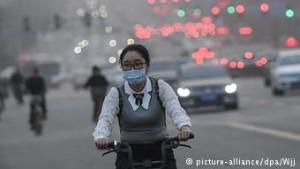 Η Κίνα αντιμετωπίζει τεράστιο πρόβλημα ατμοσφαιρικής ρύπανσης