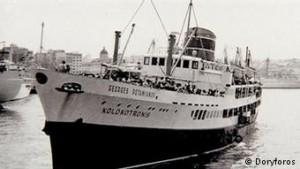 Χιλιάδες Έλληνες ταξίδεψαν τότε με τον «Κολοκοτρώνη» από Πειραιά προς Ιταλία