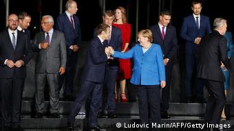 Μακρόν και Μέρκελ στη Σύνοδο Κορυφής της ΕΕ στη Λιουμπλιάνα