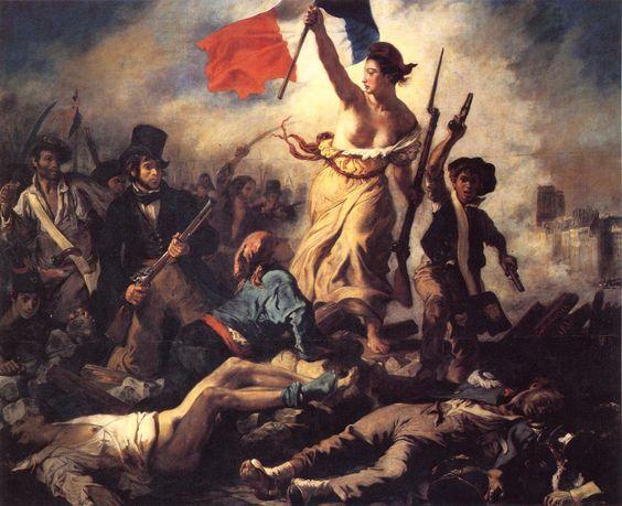 Η Ελευθερία οδηγεί το Λαό, Ευγένιος Ντελακρουά